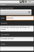 Screenshot of Xercise