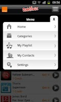 Screenshot of RingTagz – Music for Callers