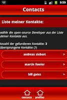 Screenshot of Meine Akte