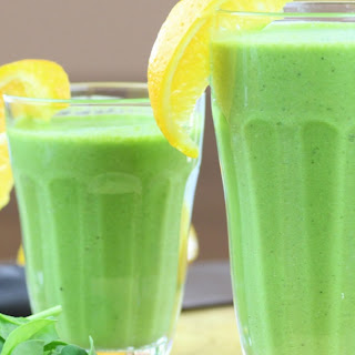 Rawtarian's Silky Green Smoothie