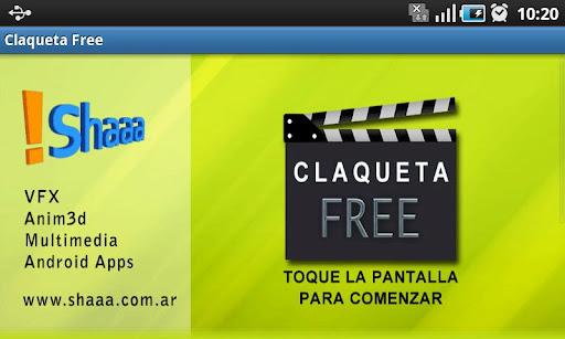 Claqueta Free
