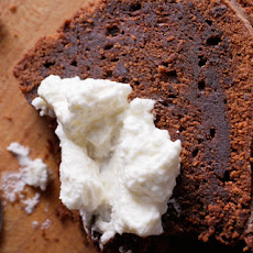 Chocolate-Whiskey Cake with Fluthered Cream Recipe