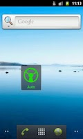 Screenshot of Driving Call Screen