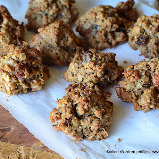 Almond Butter Granola Cookies