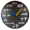 Math Analog Clock Widget