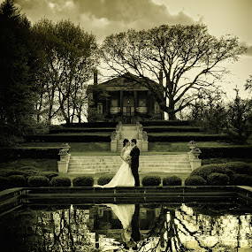 The Mansion by Cesar Palima - Wedding Bride & Groom