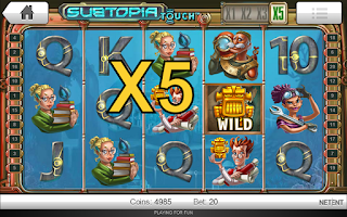 Screenshot of Subtopia Free Slots - Pokies