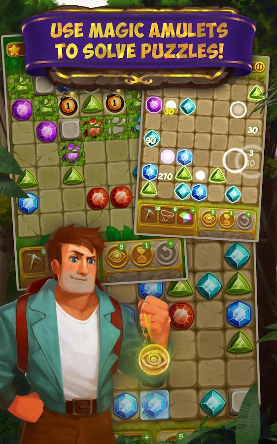 Gemcrafter: Puzzle Journey Screenshot 16
