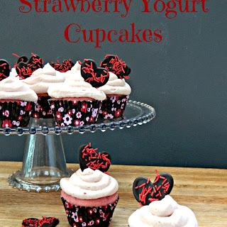 Strawberry Yogurt Cupcakes Recipes