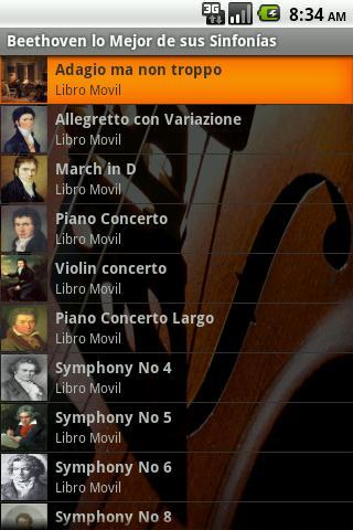 Sinfonias de Beethoven - Audio
