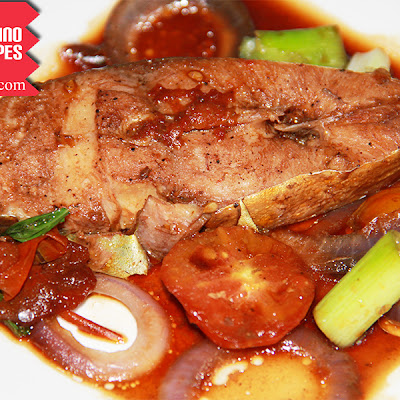 Pinangat na Isda sa Kamatis Recipe (Fish and Tomatoes Simmered in Soy Sauce)
