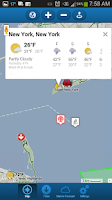 Screenshot of First Mate Marine Weather Pro