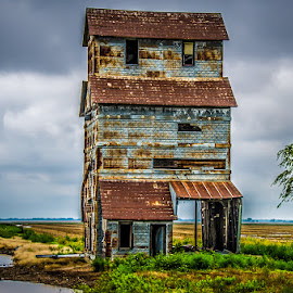 Abandoned by Alice Burghart - Buildings & Architecture Decaying & Abandoned ( offerle to oklahoma, kansas,  )