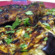 Spicy Glazed Eggplant
