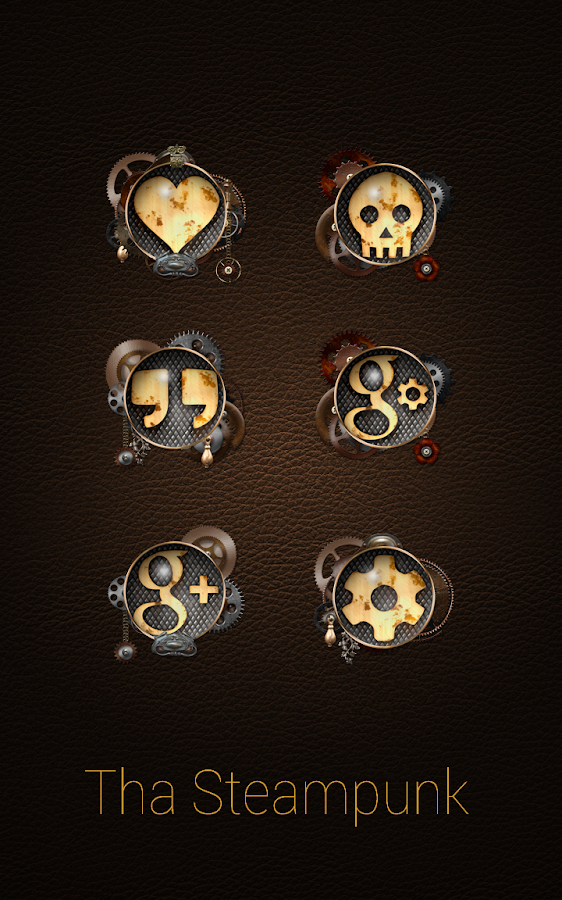 Tha Steampunk - Icon Pack Screenshot 3
