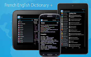 Screenshot of French English Dictionary +