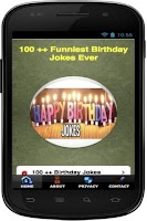 Screenshot of 101 + Funniest Birthday Jokes
