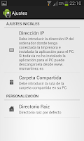 Screenshot of Impresora Android