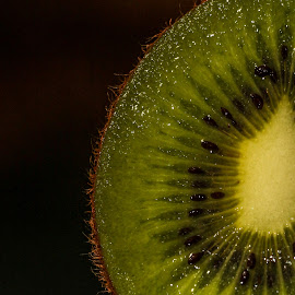 My Half Kiwi by Syahrul Nizam Abdullah - Food & Drink Fruits & Vegetables