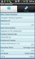 Screenshot of SuiteDroid for NetSuite