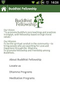 Screenshot of Buddhist Fellowship