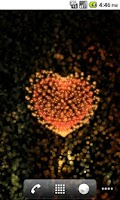 Screenshot of Valentines Heart Beat