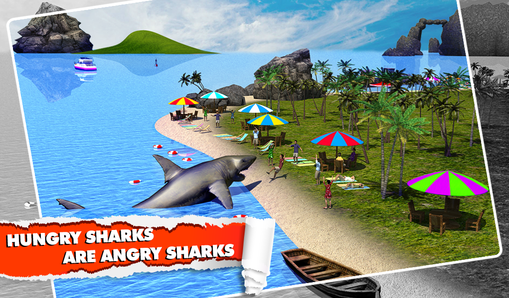 Angry Shark Simulator 3D Screenshot 10