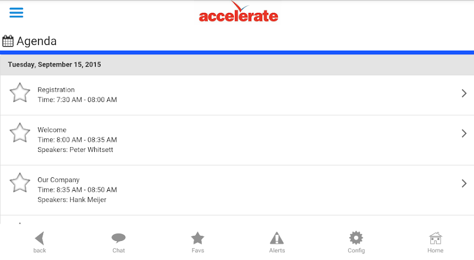Accelerate Summit 2015 APK