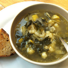 Gabrielle Hamilton's Minestrone Soup with Grilled Cheese Sandwiches Recipe
