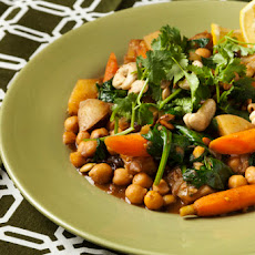 Potato-Chickpea Stew with Garam Masala & Lemon