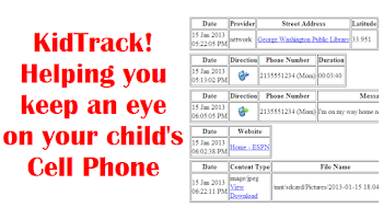 Screenshot of KidTrack™ Installer