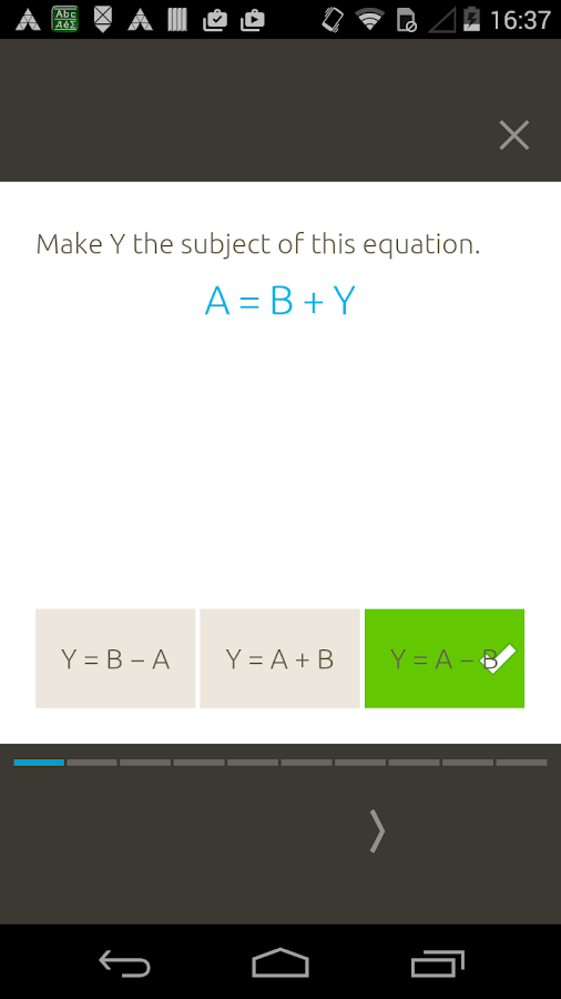 Step Up Maths - nimbl Screenshot 1