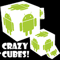 Crazy Cubes 3D! Live Wallpaper icon