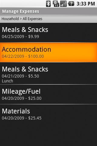 My Expense Tracker