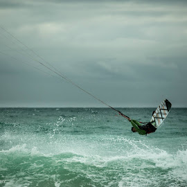 Kitesurfer  by Branko Grcic - Sports & Fitness Watersports