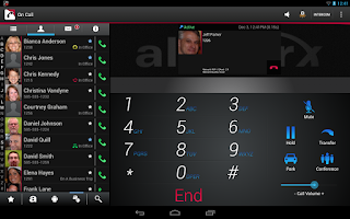 Screenshot of Allworx Reach