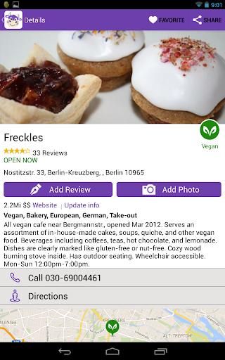 HappyCow Restaurant Guide FULL - screenshot