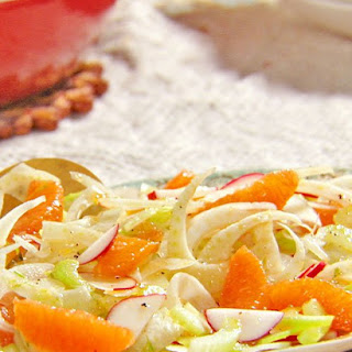Crunchy Fennel Orange Salad