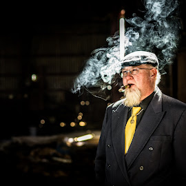 Mr Limer by Bobby Thomas - People Portraits of Men
