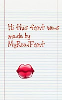 Screenshot of MyRealFont Lite-Make Your Font