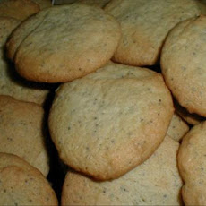 Poppy Seed-Almond Cookies