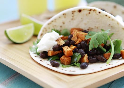 Sweet Potato and Black Bean Taco Recept | Yummly