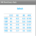 INR Remittance Rate icon