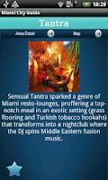 Screenshot of Miami City Guide
