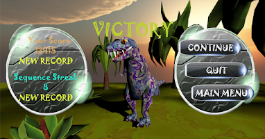 Screenshot of Dino Dance