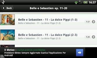 Screenshot of Belle e Sebastien