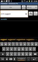 Screenshot of OneHand Keyboard