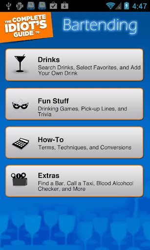 Idiot's Guide to Bartending