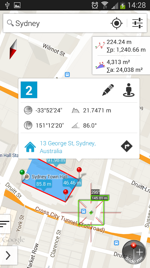 Measure Map Pro Screenshot 2