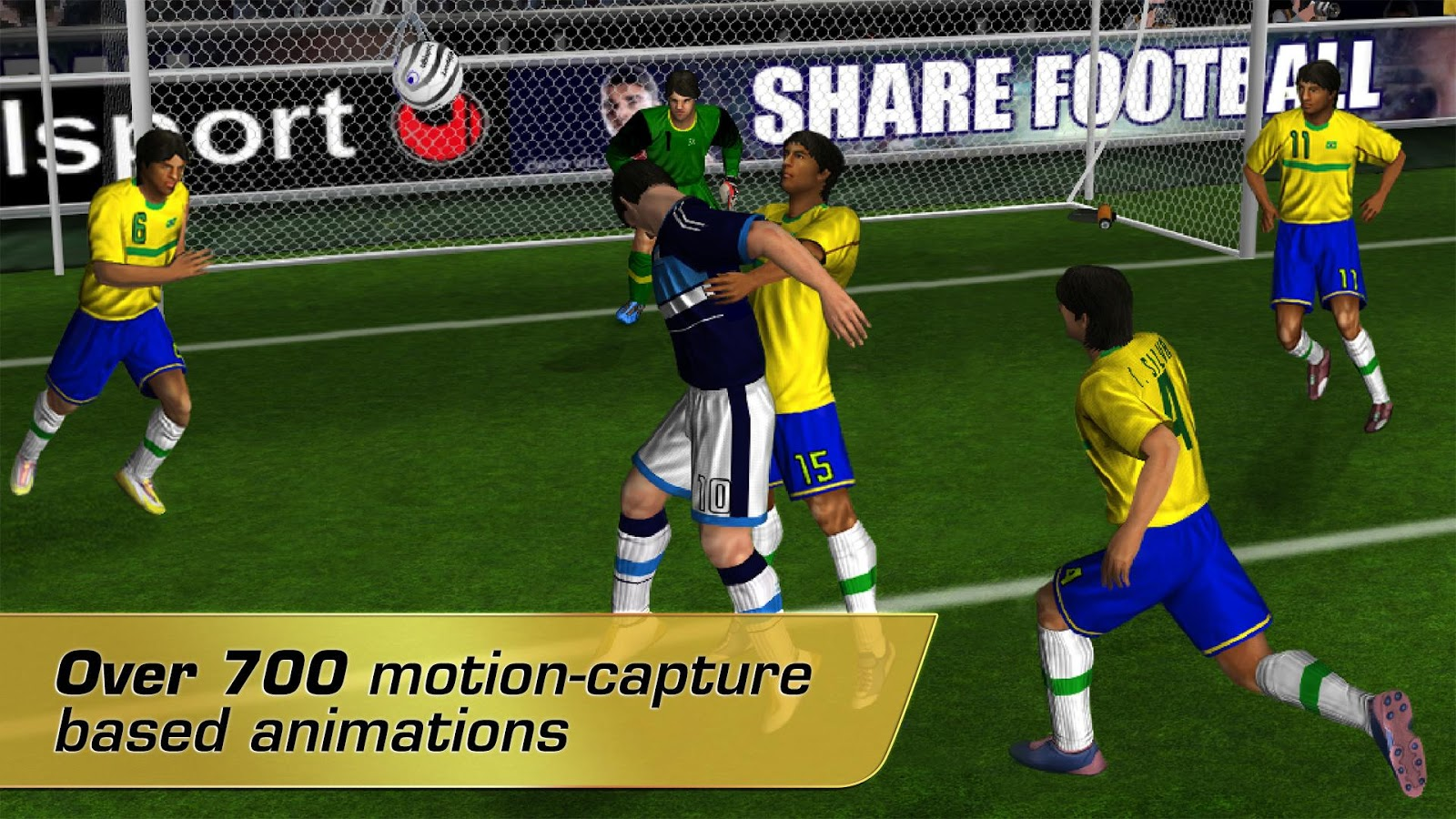 Real Football 2012 Screenshot 1